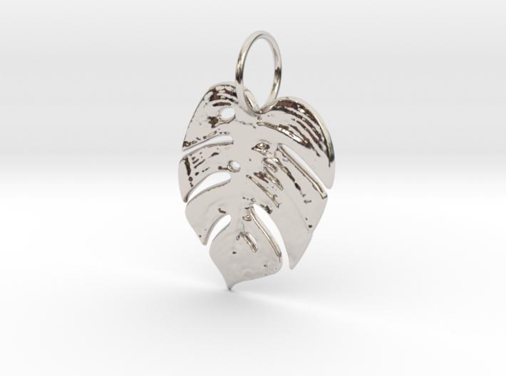 Tropical leaf 3d printed