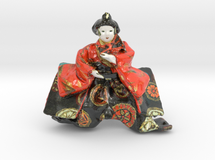 The Japanese Hina Doll-mini 3d printed