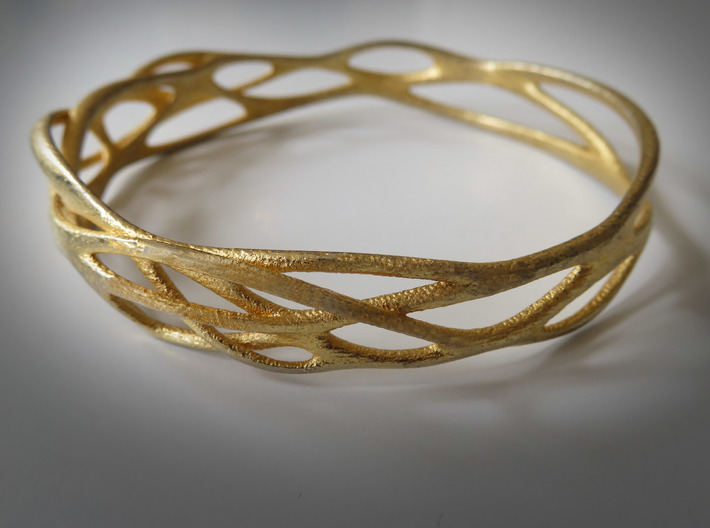 Incredible Minimalist Bracelet #coolest (S) 3d printed That's my favorite for just every day!