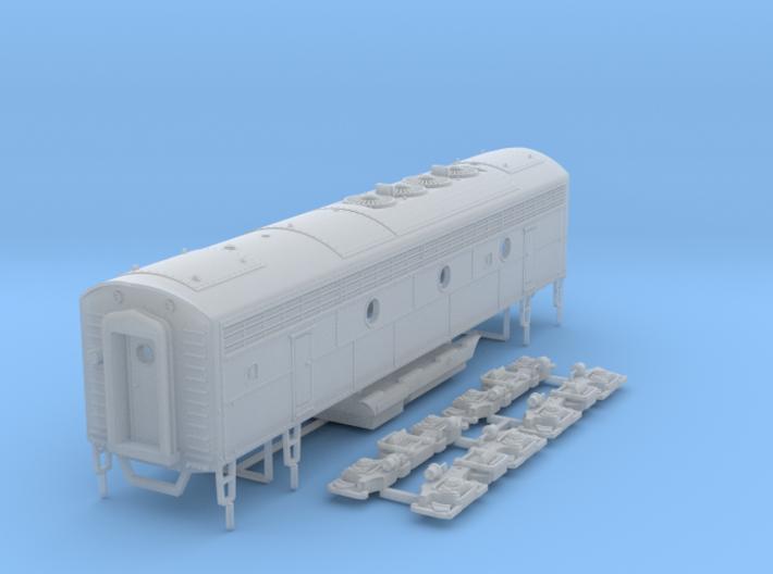 TT Scale F7B 3d printed