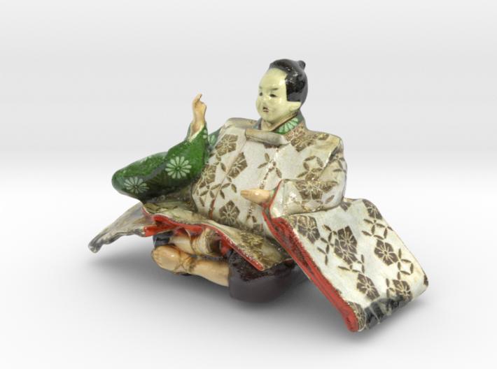 The Japanese Hina Doll-7-mini 3d printed