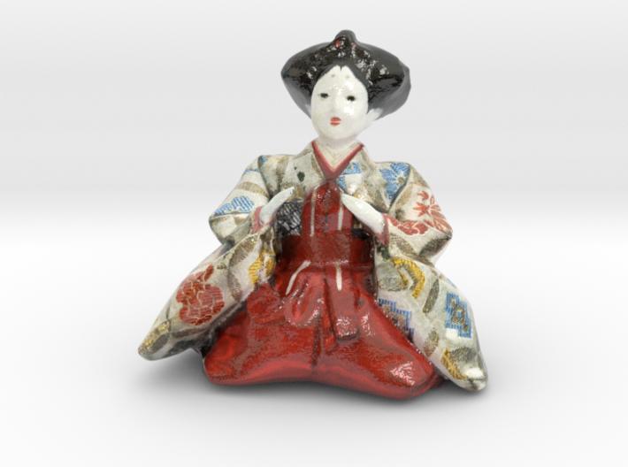 The Japanese Hina Doll-9-mini 3d printed