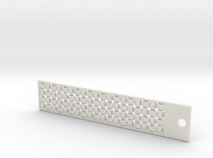 DRAW bookmark - woven 3d printed