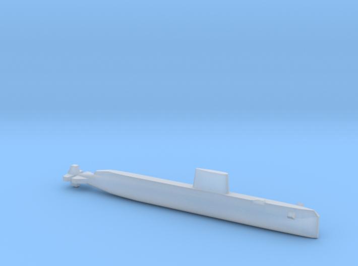 USS Nautilus (SSN-571), Full Hull, 1/2400 3d printed