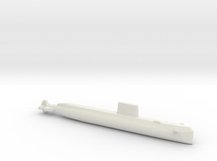 USS Nautilus (SSN-571), Full Hull, 1/1800 3d printed