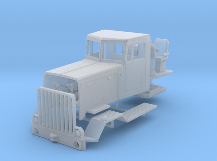 1/87th Peterbilt 387 Heavy truck cab 3d printed