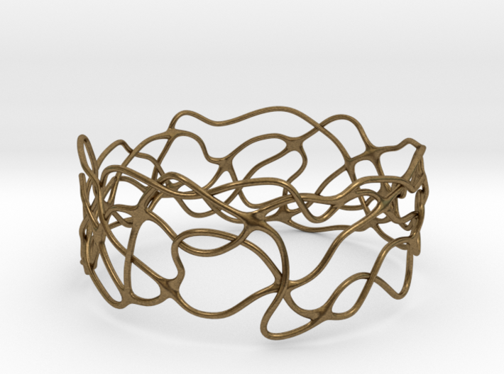 Bracelet 'Wave Length' 3d printed