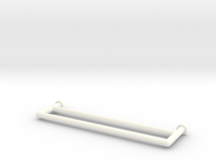 1:12 Towel Rail Double 3d printed