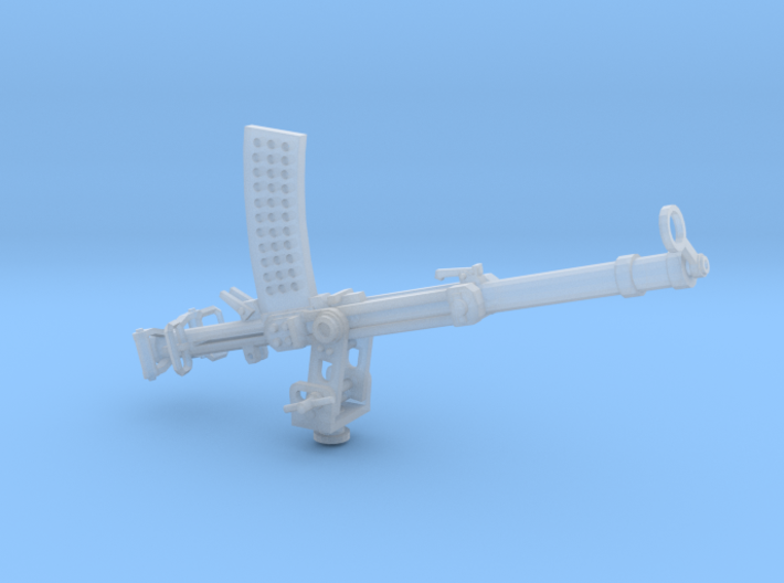 Becker 20mm Cannon 1917 (1:32) on a stand 3d printed