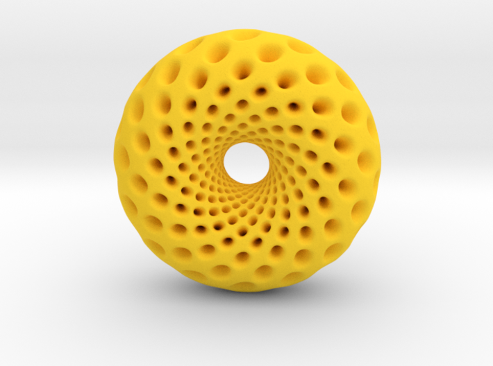 0520 F(u,v) Holed Clifford Torus (d=5.8cm) 3d printed