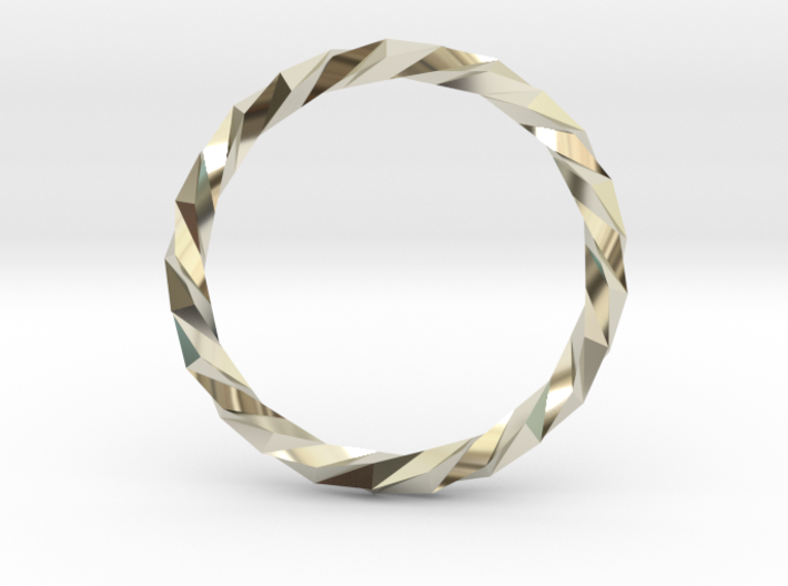 Twistium - Bracelet P=230mm 3d printed