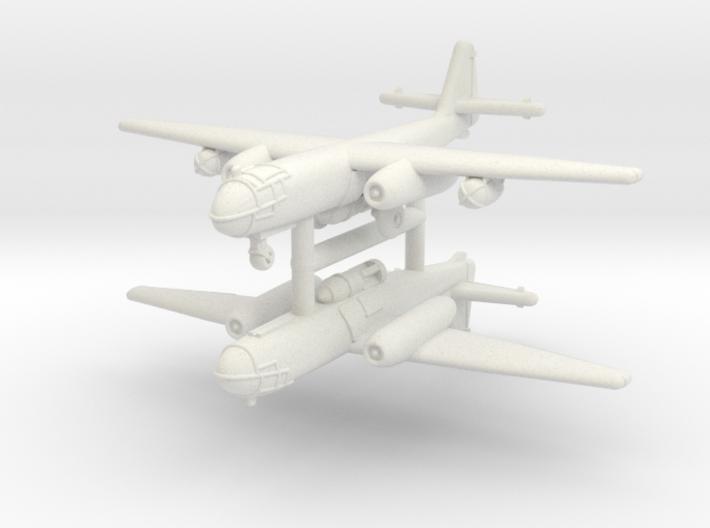 1/285 Arado Ar-234B-2 (x2) 3d printed