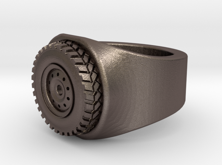Wheel Ring size 11 3d printed