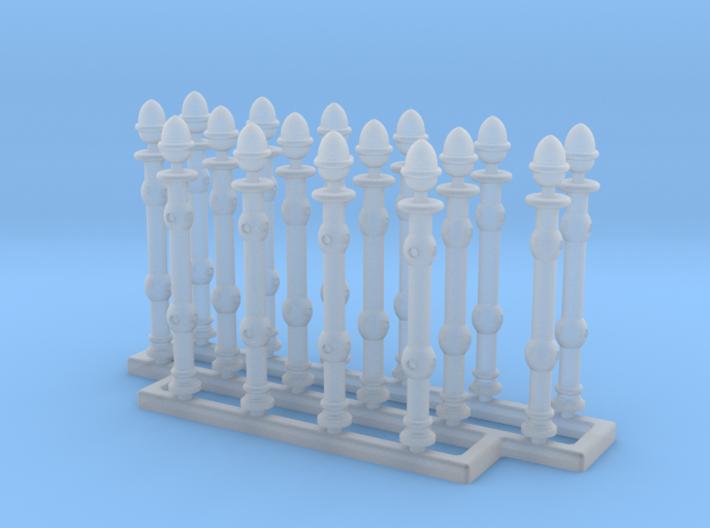 1/35 Railing Set 3d printed