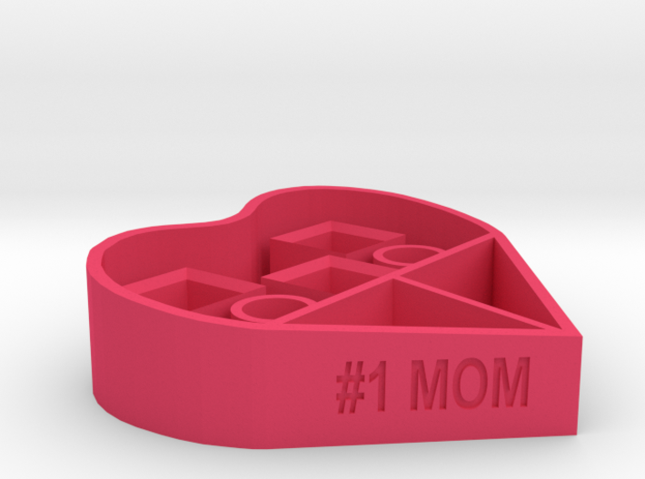 #1 MOM makeup organizer 3d printed
