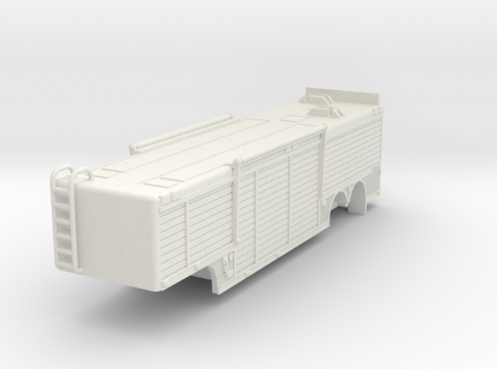 1/64 USAR or Hazmat Trailer 3d printed