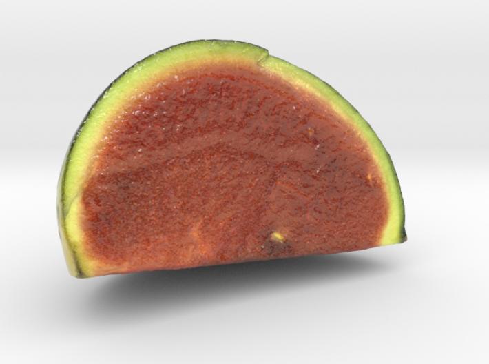 The Watermelon-2-Quarter-mini 3d printed