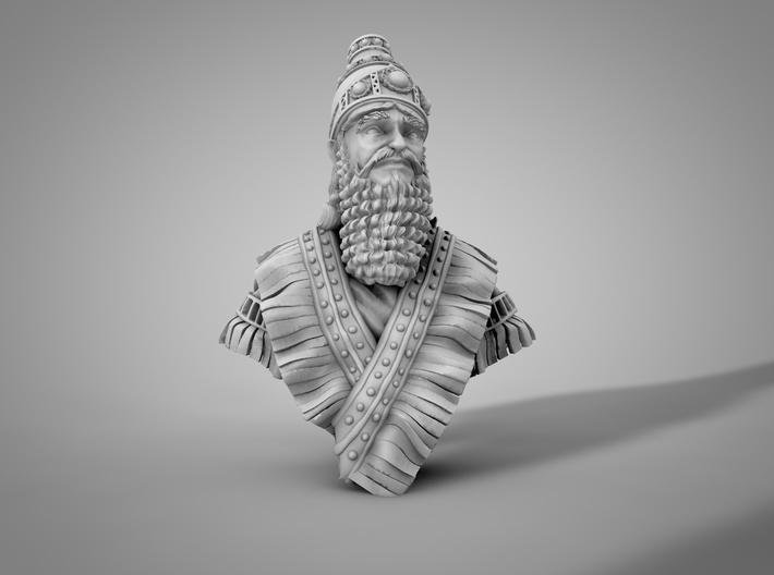 noble Assyrian 3d printed