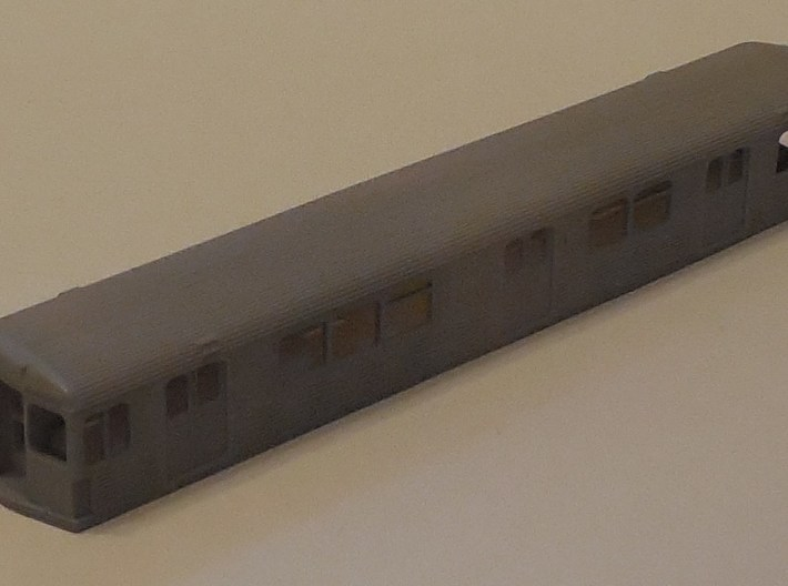 N SEPTA Kawasaki BIV Subway Double-End Body Shell 3d printed