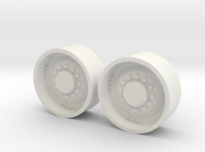 "1/64 34"" Mfwd Wheel pair 3d printed"
