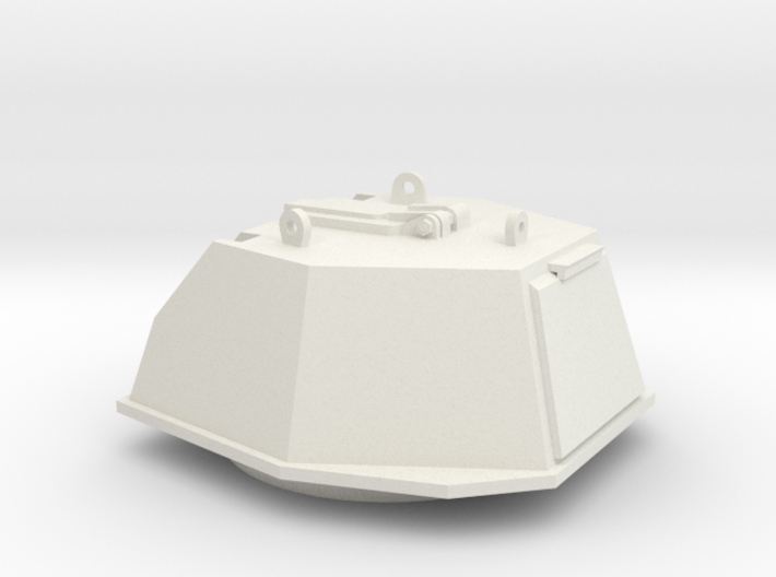DShKM-2BU  Turret 1:35 scale 3d printed