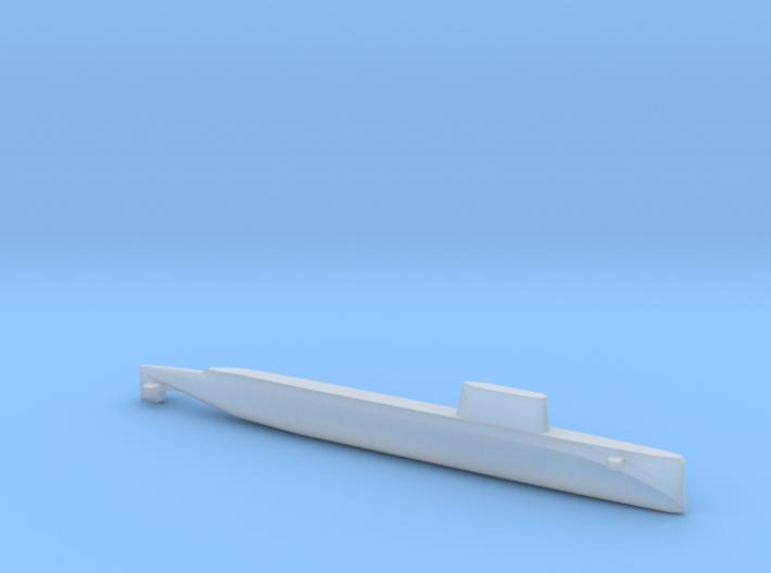 USS Triton (1962), Full Hull, 1/1800 3d printed