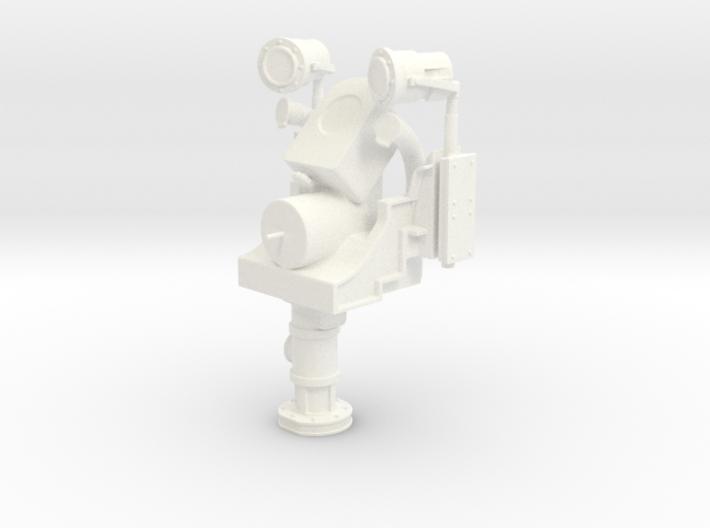 1/18 USN Helm Pedestal-Steering (with no) Wheel 3d printed
