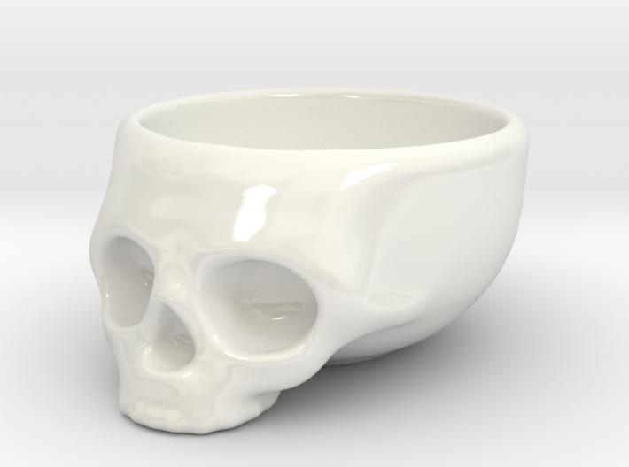 The Cranium Mug 3d printed The standard.