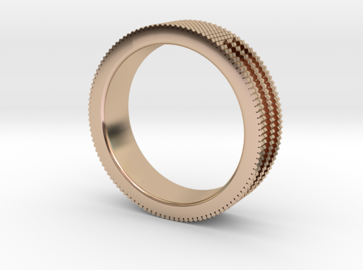Ø0.687 inch/Ø17.45 mm Prisma Ring 3d printed
