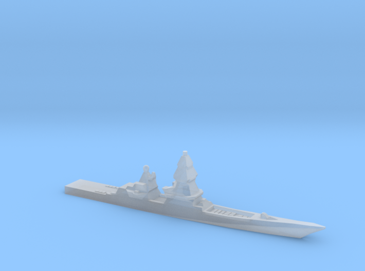 Project 23560E Shkval Destroyer, 1/6000 3d printed
