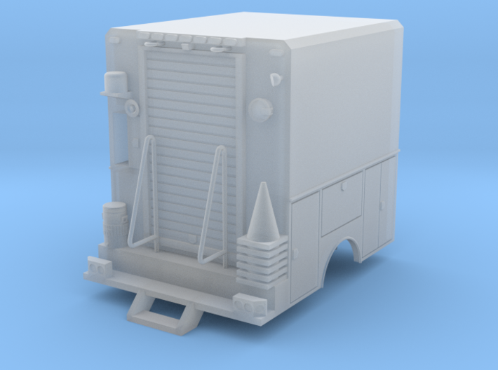 Utility Truck Work Bed 1-64 3d printed