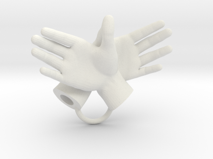 Eagle - Hand Shadows 3d printed