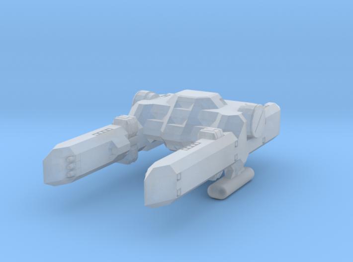 System Fleet Percy Class Mid-Bulk Freighter 3d printed