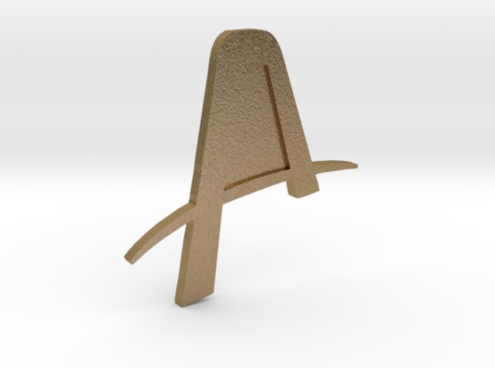 Artemis Badge 3d printed