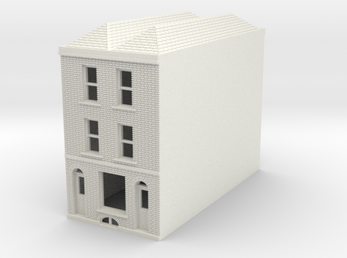 RHS-7 N Scale Rye High Street building 1:148 3d printed