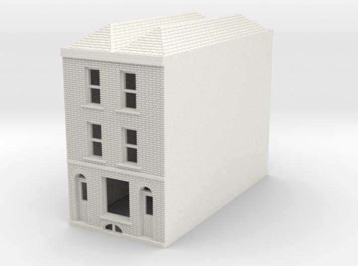 RHS-7 N Scale Rye High Street building 1:148 3d printed