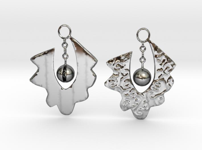 Lace Earrings By Inna 3d printed Arznak by Inna