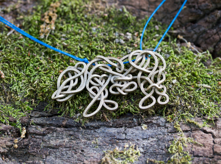 Celtic Knotted Bear 3d printed