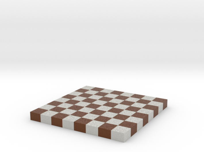 Chess Board 1/12 Scale No Frame 3d printed