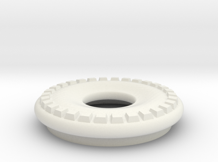 DRAW lamp - decorative ring thick 3d printed