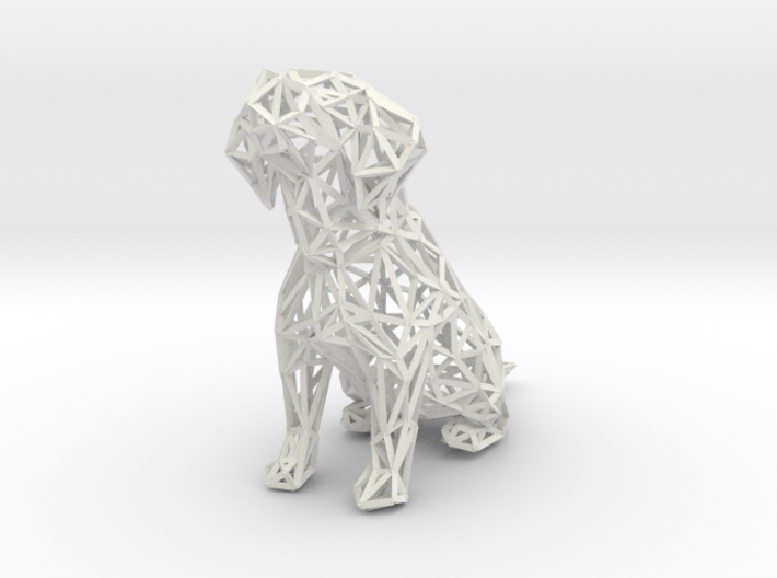 Beagle Dog Wire Frame 3d printed