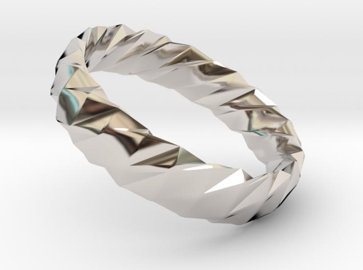 Twistium - Bracelet P=160mm h15 Alpha 3d printed