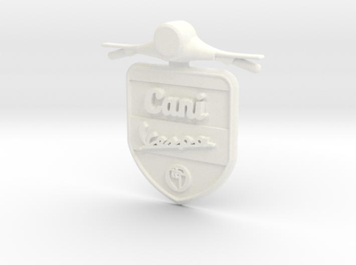 Emblem 3D Canivespa 5,5 cm 3d printed