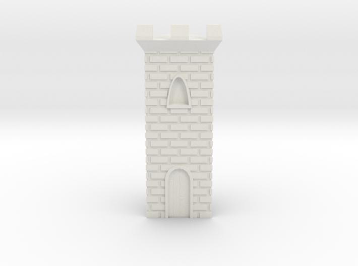 Castle Panic Castle w/ Door 3d printed