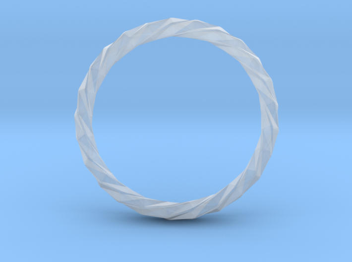 Twistium - Bracelet P=230mm h15 Alpha 3d printed