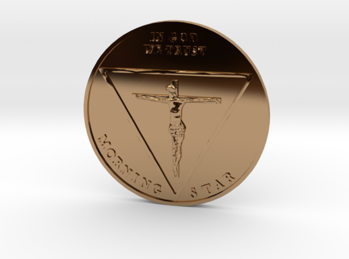 Lucy Coin 3d printed