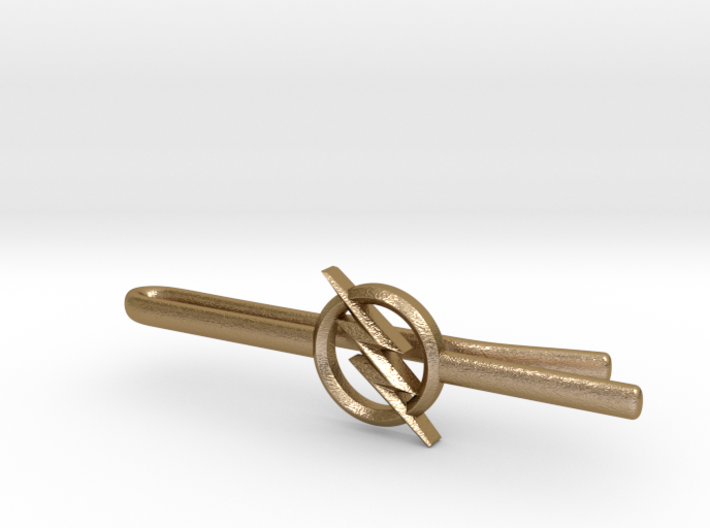 FLASH tie clip 2nd version 3d printed
