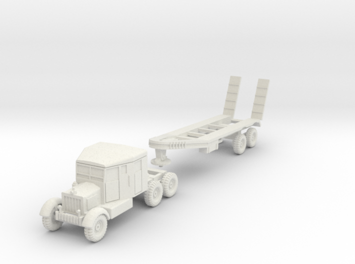 FW07A Scammell Tank Transporter (1/87) 3d printed