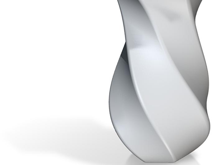 Helical Vase 3d printed Simple, clean vase