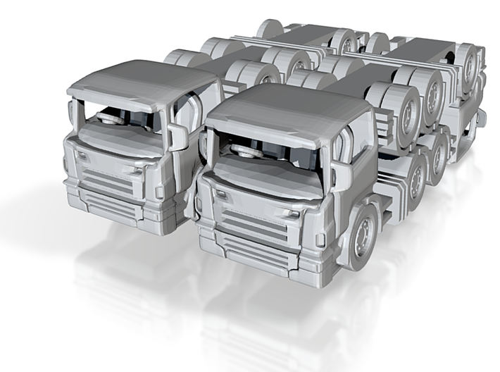 scania tractor units 1:120 3d printed